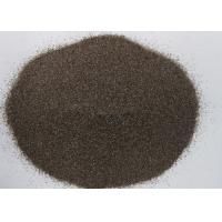 Quality Moderate Hardness Sandblasting Abrasive Material Brown Corundum F4 F240 for sale