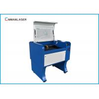 Quality Rubber Plates Laser Leather Cutting Machine 60W 110 / 220V With USB Port for sale