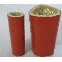 Buy Silicone Rubber Coated Fiberglass Sleeving  Heat-Insulation And Flame-Resistance at wholesale prices