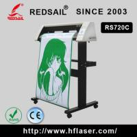 China Redsail rs720c Vinyl sticker print and cut plotter for self adhesive label on sale