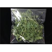 China Self Adhesive  Micro Perforated Plastic Bags For Fruit Vegetables Protection on sale