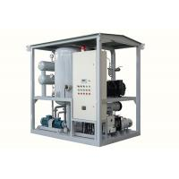 Quality ZJA Series High Efficiency Double Stage High Vacuum Transformer Oil Purifier for sale