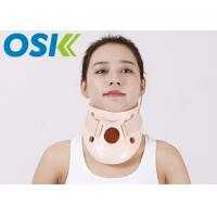 China Plastic Cervical Support Brace For Neck Pain Relief / Broken Neck Fixation on sale