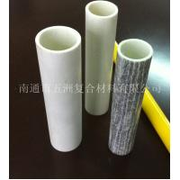 China fiberglass wood grain tube on sale