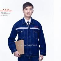 China Jeans Working Safety Uniforms with Flam Retardant Reflective Workwear on sale
