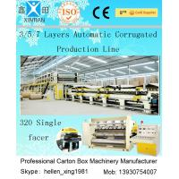 Quality Computerized 3 / 5 / 7 Ply High Speed Corrugated Carton Making Machine ISO9001 for sale