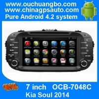 Quality Ouchuangbo GPS Wifi BT Android 4.2 for Kia Soul 2014 DVD Navi Multimedia Kazakhstan map for sale
