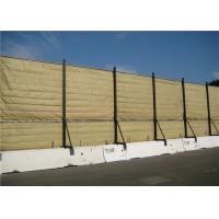 Quality Temporary Acoustic Barriers Cut Edge for for 6' x 12' chain link fence panels for sale