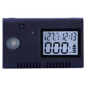 Quality USB LCD Black Carbon Monoxide Detector Alarm for sale