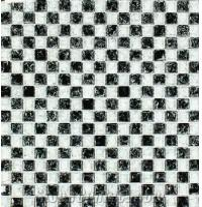 Quality Anti-slip Gold Mosaic Tile Floor Tile for sale