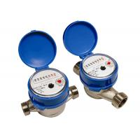 Buy cheap Single Jet Cold Industrial Water Meters ISO 4064 Class B DN15mm from wholesalers