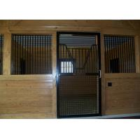 Quality Jinghua  portable horse stall stable door kits for sale  with sliding door for sale