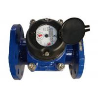 China Flange Port Industrial Water Meter Positive Displacement DN50 Dry Dial on sale