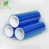 Quality 0.02-0.20mm Excellent UV Resistant Self Adhesive Blue PE Protective Film for sale