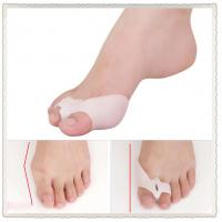 Quality Bunion Shield Splint Gel Silicone 2-Toe Spacer Prevention Protector with release hole for sale