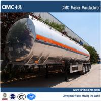 Quality tri-axle fuel trailer tankers with 38000 litres payload capacity for sale