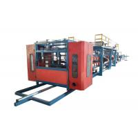 Quality Rock Wool Sandwich Panel Forming Machine / Sandwich Panel Machine Line Size 30*2.2*2.5m for sale