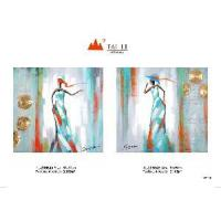Quality Woman Arts Abstract Oil Painting on Canvas for sale