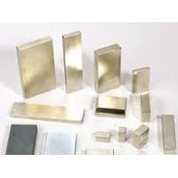 Quality gold Coating N35 sintered permanent cars,communication,electron Neodymium Block Magnets for sale