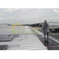 Quality Pre - Assembly Pitched Roof Solar Panel Mounting Structure for sale