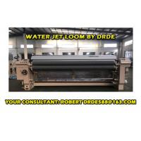 Quality Cam Motion Shedding Water Jet Loom , 2 Nozzle Industrial Weaving Loom for sale