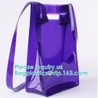 China Backpack Shoulder Biodegradable Shopping Bags Promotional Waterproof Cosmeti Vinyl on sale