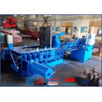 Quality Waste Beverage Cans Hydraulic Scrap Metal Baler With Hand Valve Control for sale