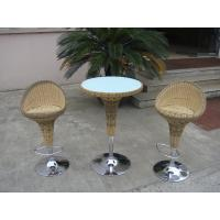 Quality Pool Resin Wicker Bar Set for sale