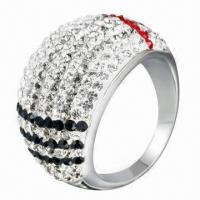 Quality Crystal Ring, OEM/ODM Orders Welcomed for sale