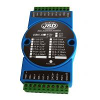 Quality 8-ch current/voltage signal to RS485/RS232 converter (A/D Converter) for sale