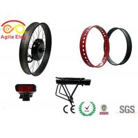 Quality Haitian Type Battery Fat Tire Electric Bike Conversion Kit With Twist Throttle for sale