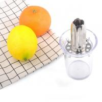 Quality Factory new style plastic and stainless steel 304 lemon squeezer lemon press for sale