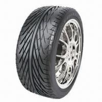 China Passenger Car Tires with Low-noise Design, Comes in Semi-steel Radial Tires on sale