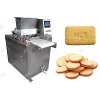 Quality Different Shape Snacks Making Machine , Automatic Biscuit Processing Machine 220V 50Hz for sale