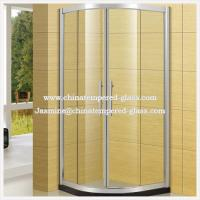 Quality 5mm Clear Shower Glass Wall for sale