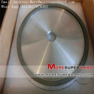 Quality 4A2 resin bond diamond/ CBN grinding wheel Mary@moresuperhard.com for sale