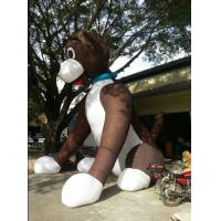China New finished Inflatable giant sitting dog for sale on sale