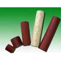 China 0.69*5m Aluminum Oxide Stearted Coated Paper Roll on sale