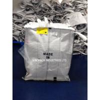 Quality White Conductive Big Bags , Fibc Big Bags Preventing Combustion And Explosion for sale