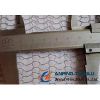 Quality Knitted Wire Mesh, Stainless Steel Material, 0.10-0.30mm Wire Diameter for sale