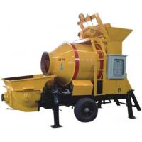 China Hot Sale JBT Series Diesel small portable concrete pump with mixer on sale