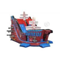 Quality Galleon Style Commercial Grade Inflatable Water Slide For Adults / Children for sale