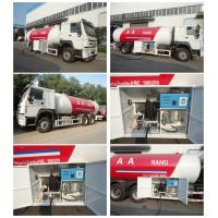 Quality high quality 6x4 HOWO 25300 liters gas cylinder transportation lpg tanker truck for sale for sale