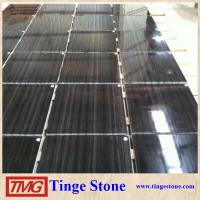 China Good quality Black wood Vein Marble for sale on sale