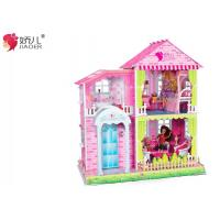 China BEST GIFT FOR GIRL JIAOER BIG DIY DOLL HOUSE on sale