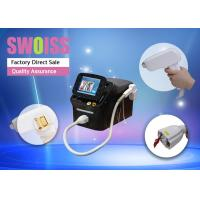 Quality Multi Wavelength Diode Laser Hair Removal Machine 808nm For Bikini Removal 1-10Hz for sale