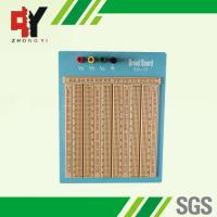 Quality Reusable Big Brown Solderless Breadboard 2420 Points With Blue Plate for sale
