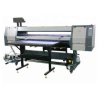 China 1.8m UV Hybrid Flatbed Digital Printing Machine For Rigid Board / Vinyl Printing on sale