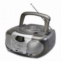 Quality Boombox MP3 and CD Player with AM/FM Two Band Radio for sale