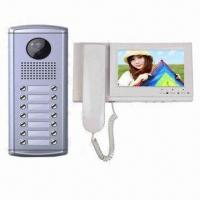 Quality Video Intercom Doorbell with 7-inch TFT LCD and Remote Unlocking Function for sale